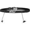 2XU Race Belt with Loops Black/Black